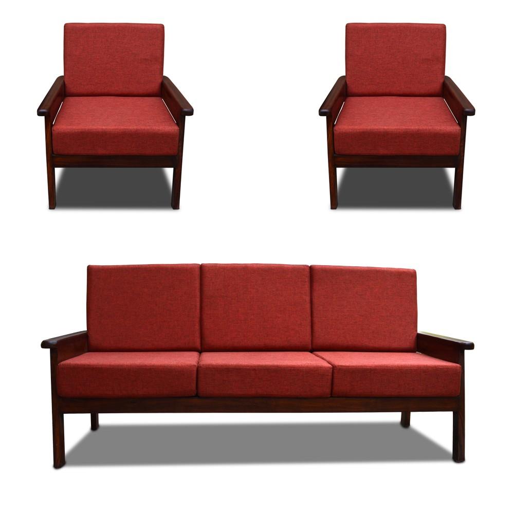 Mademoiselle Sofa Set Red