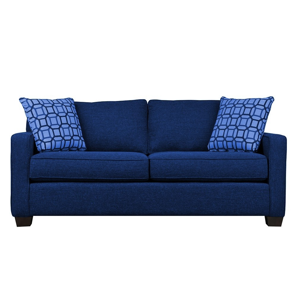 Oslo Three Seater Sofa Blue