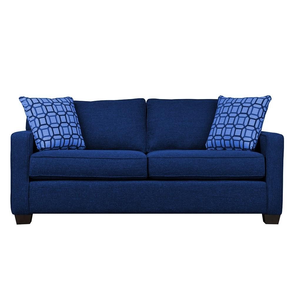 Oslo Two Seater Sofa Blue