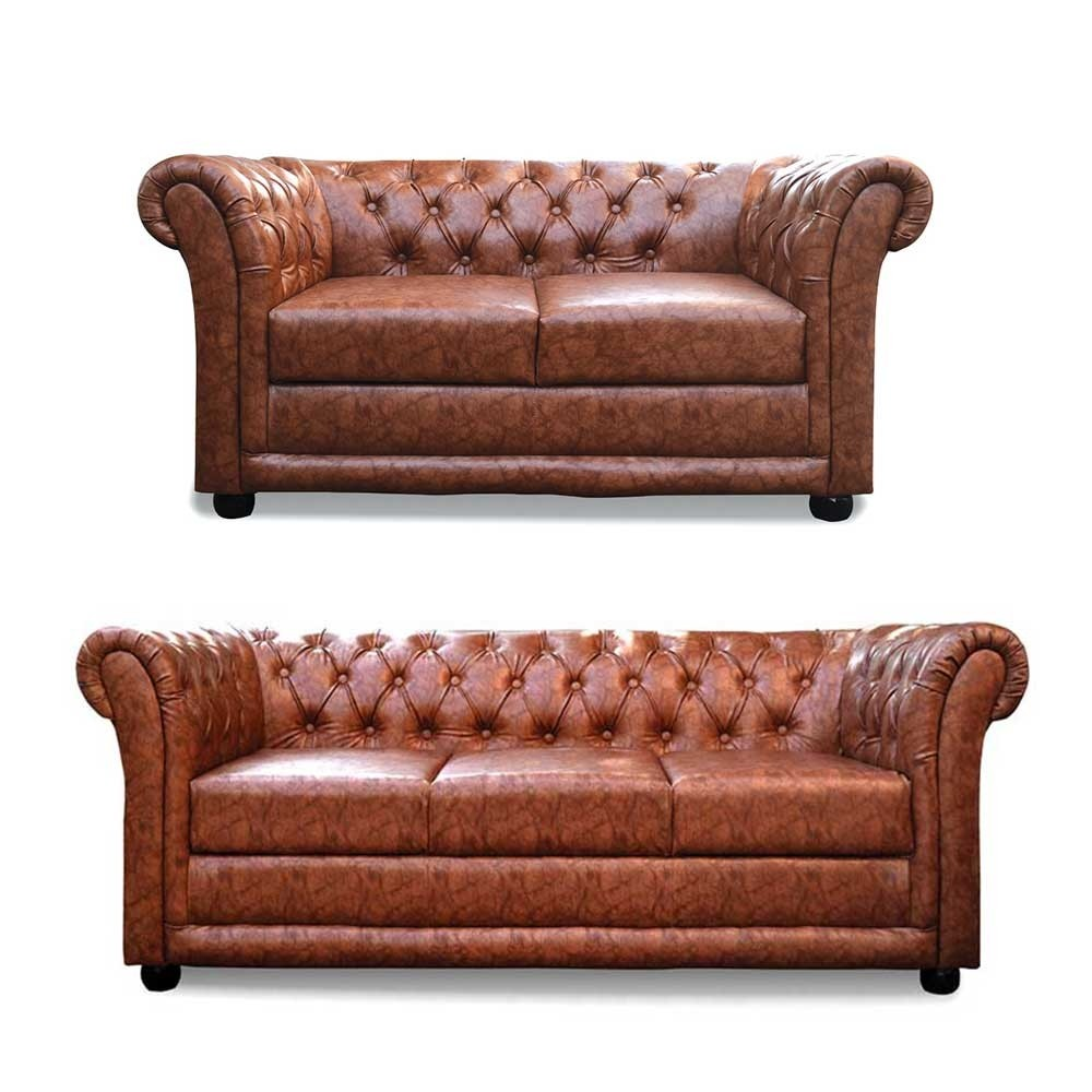 Rahi Chesterfield Sofa Set 3+2