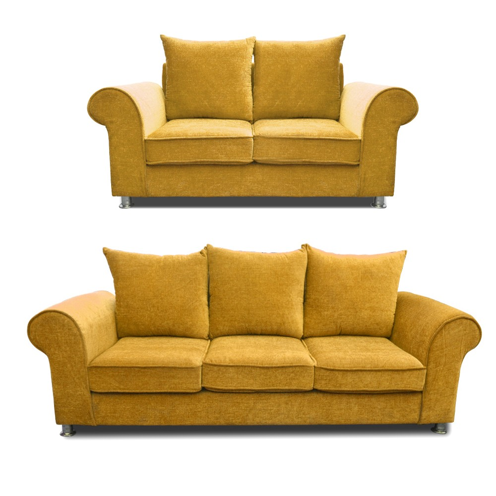 Canberra Sofa Set Fawn 3+2