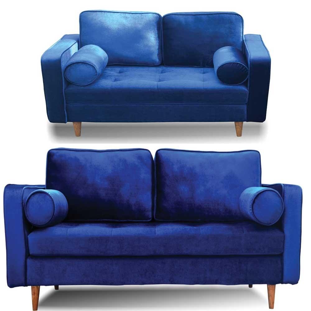 Holly Sofa Set 3+2 Blue
