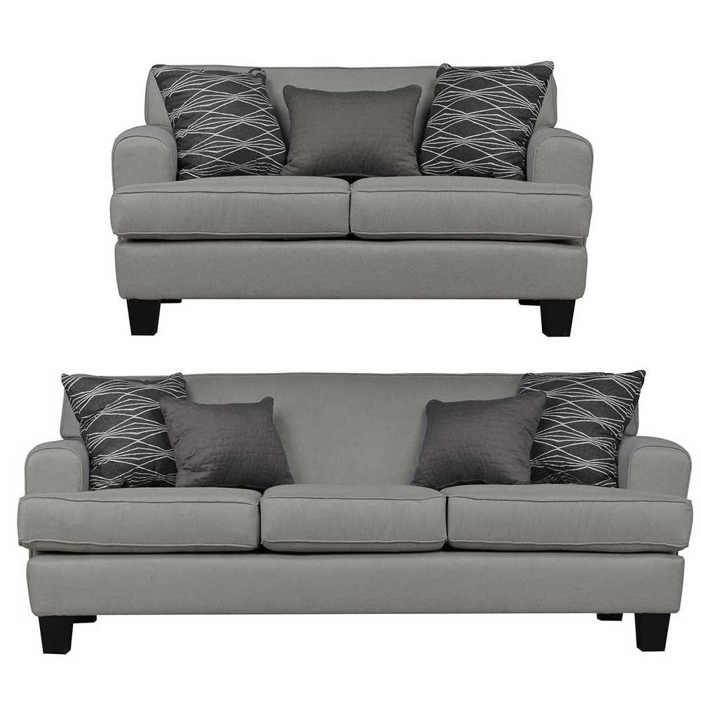 Helsinki Sofa sets Grey 3+2