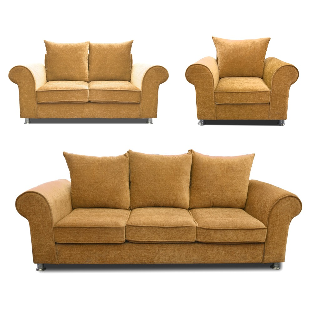 Canberra Sofa Set  Lemon 3+2+1
