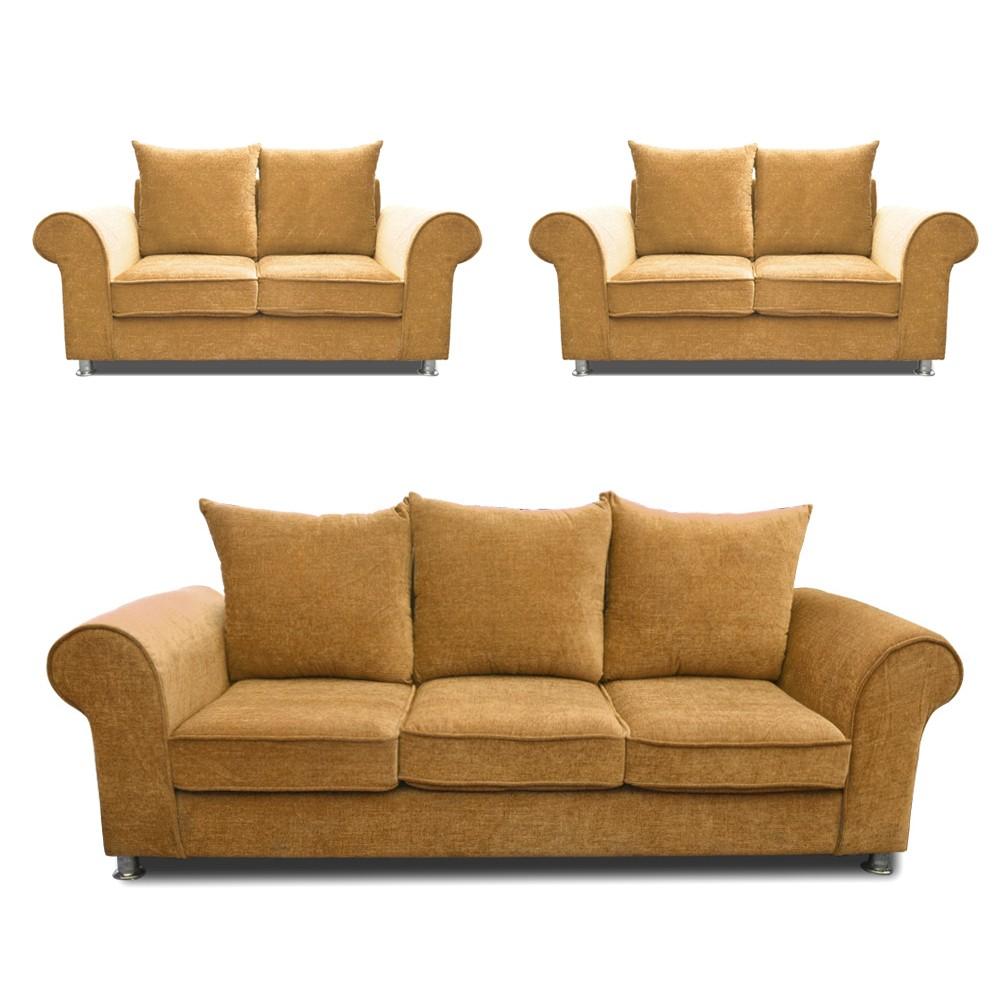 Canberra Sofa Set  Lemon 3+2+2