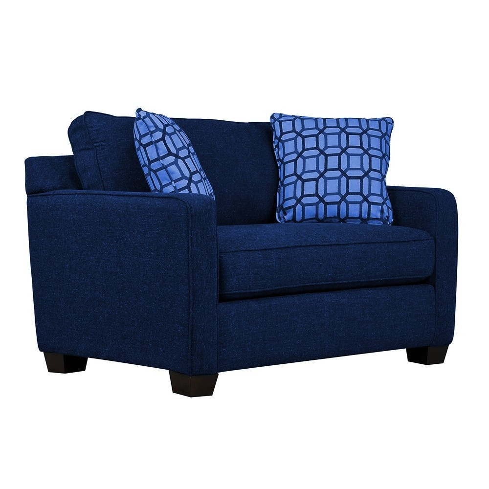 Oslo one Seater Sofa Blue