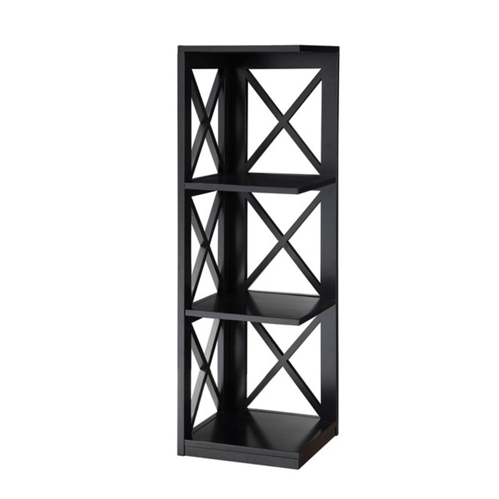 Tres Chic 3 Shelf Corner Unit