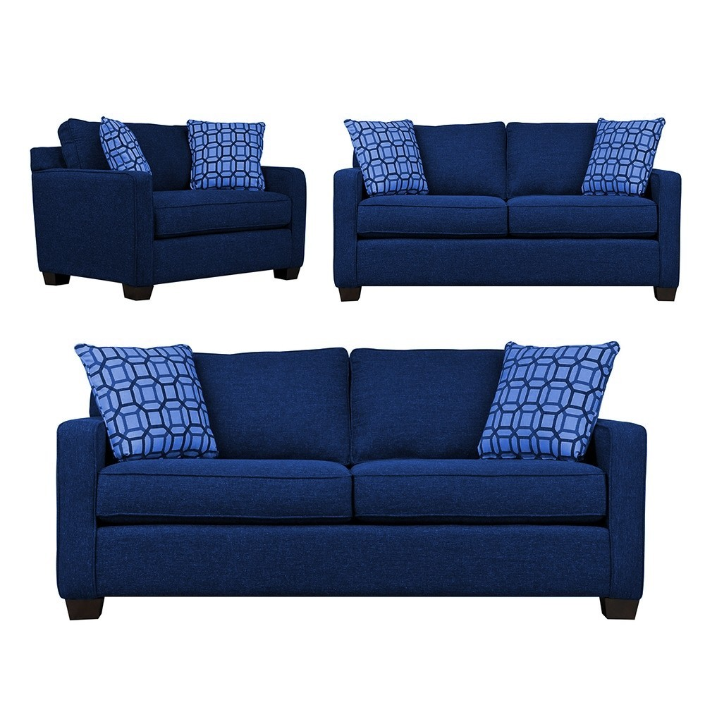 Oslo Sofa sets 3+2+1 Molfino-Blue