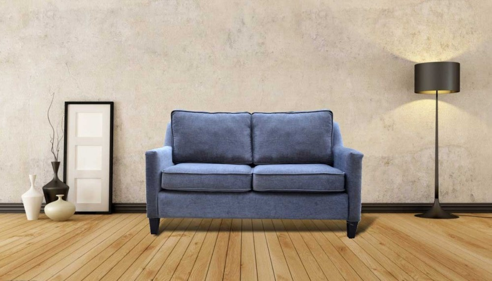 Allure Two Seater Sofa Blue