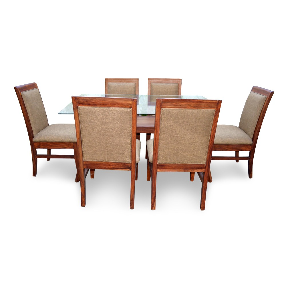 Dining Table Seats 6: ARABIA 6 SEATER DINING TABLE
