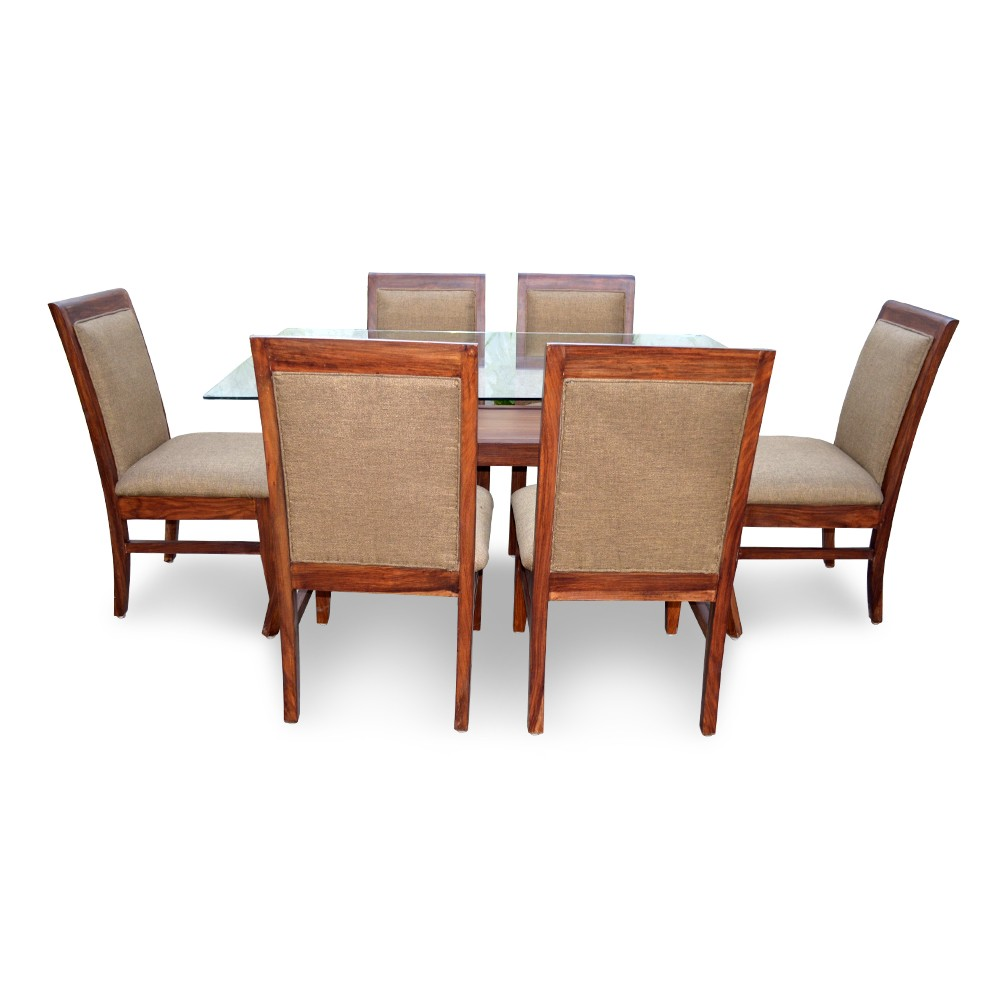 Dining Sets For 6: ARABIA 6 SEATER DINING TABLE
