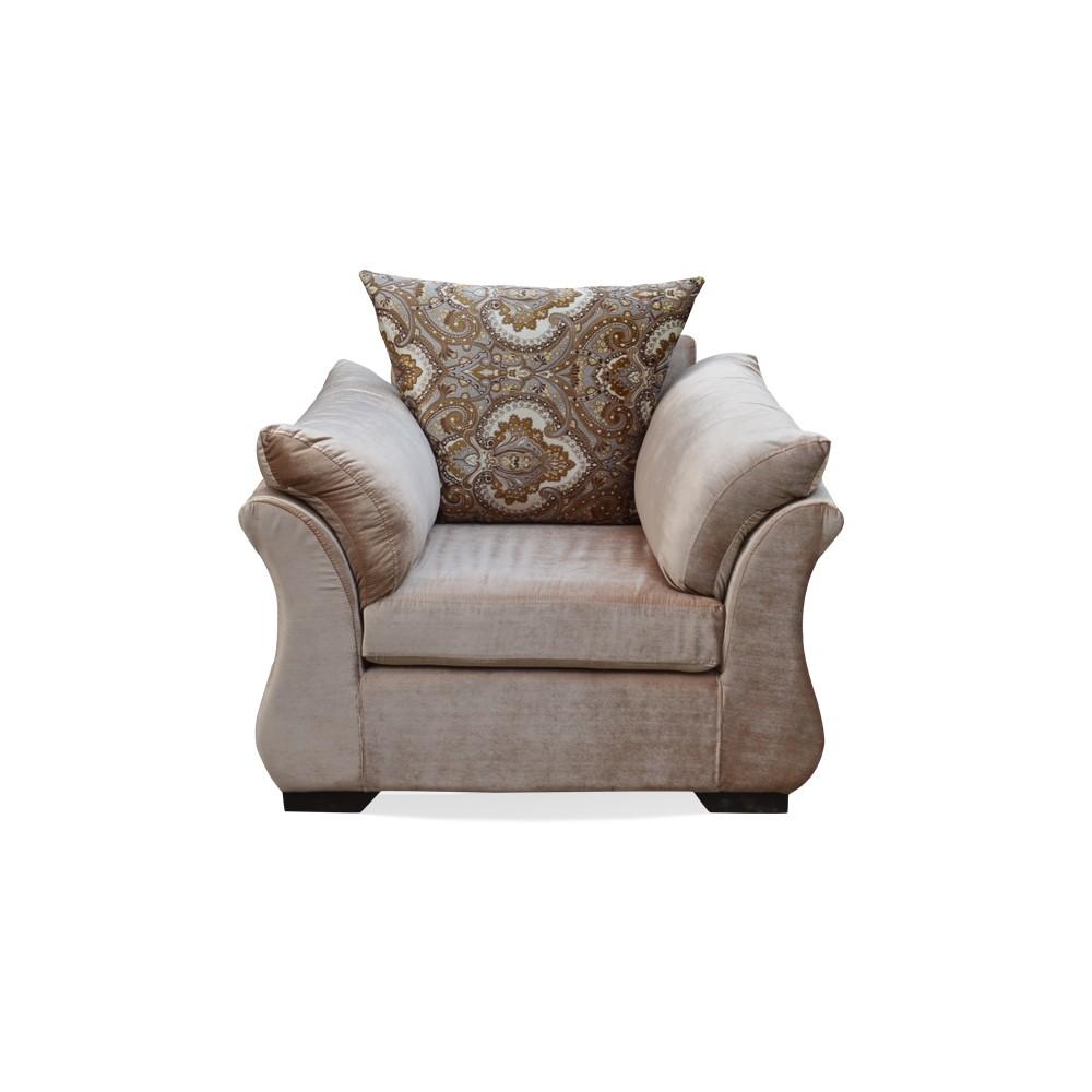 Bern one Seater Sofa Fawn