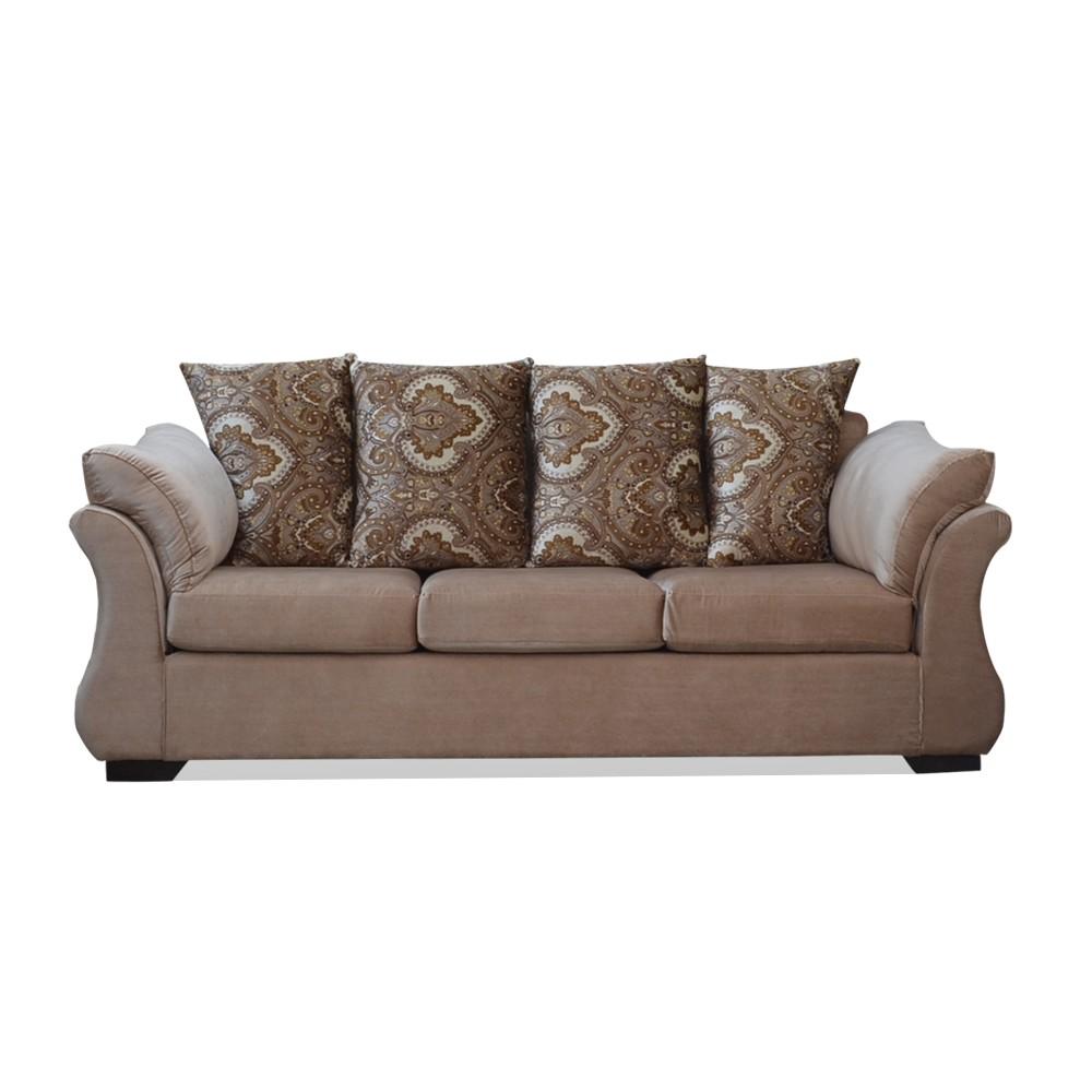 Bern Three Seater Sofa Fawn
