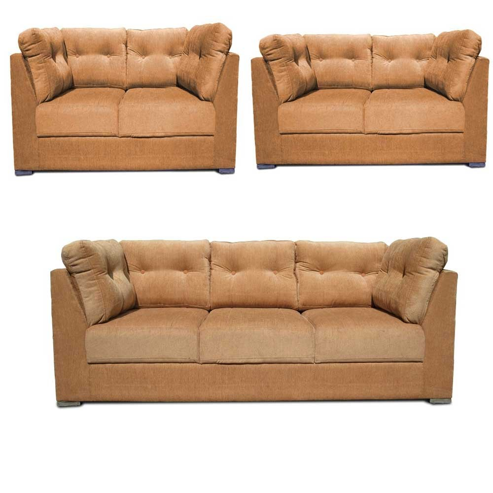 Houston Sofa Set Beige 3+2+2