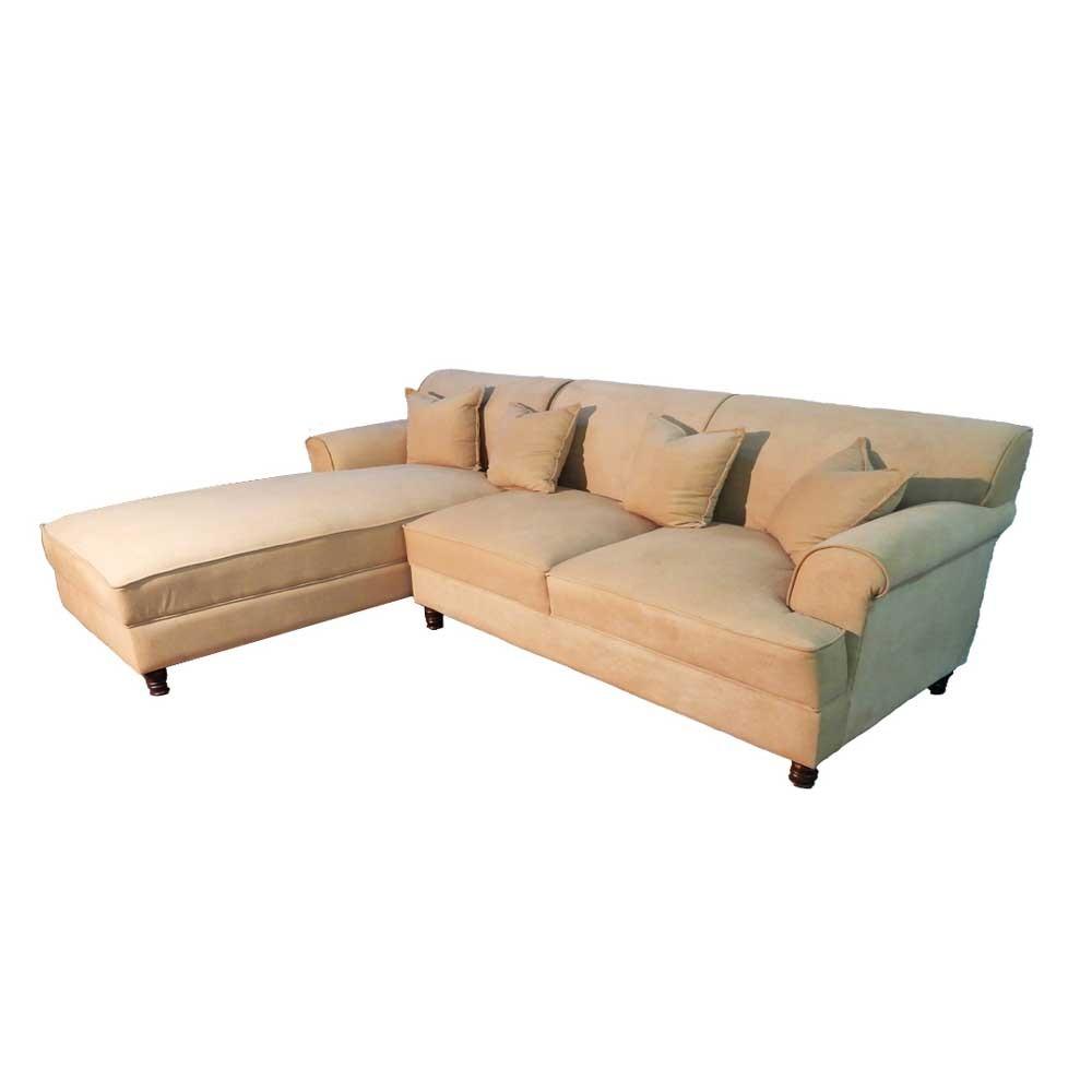 Vento L Shaped Sofa Beige