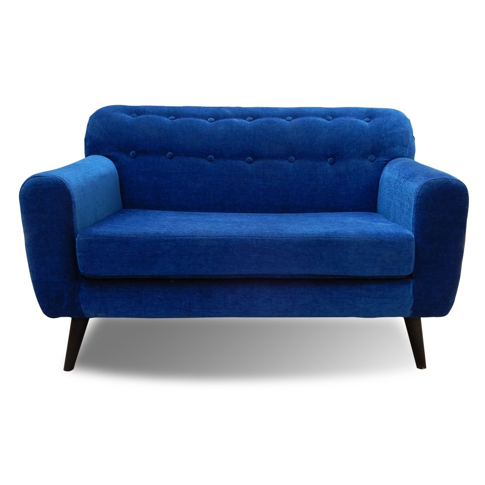 Boise Two Seater Sofa Blue
