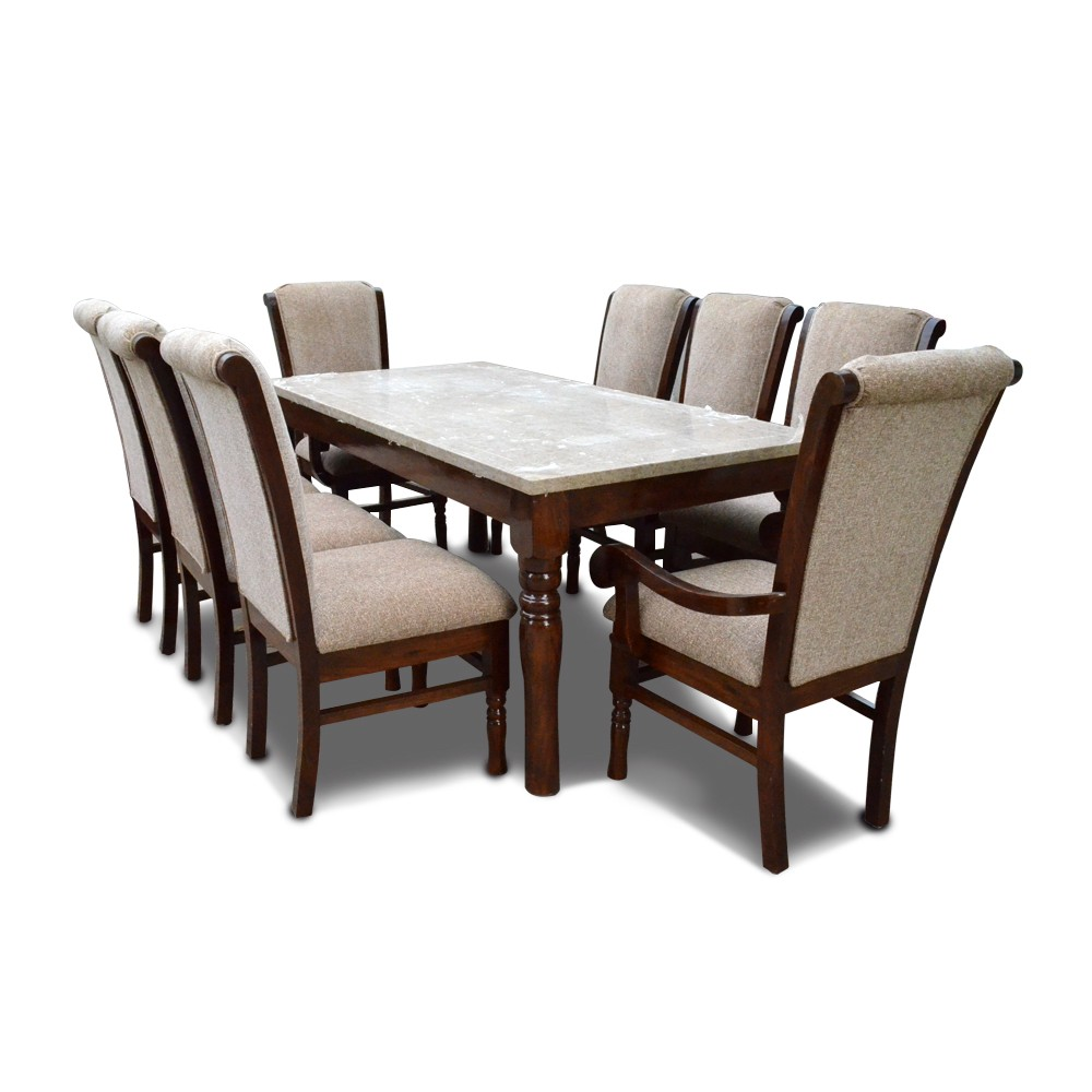 Bon Appetite 8 Seater Dining with Marble Top