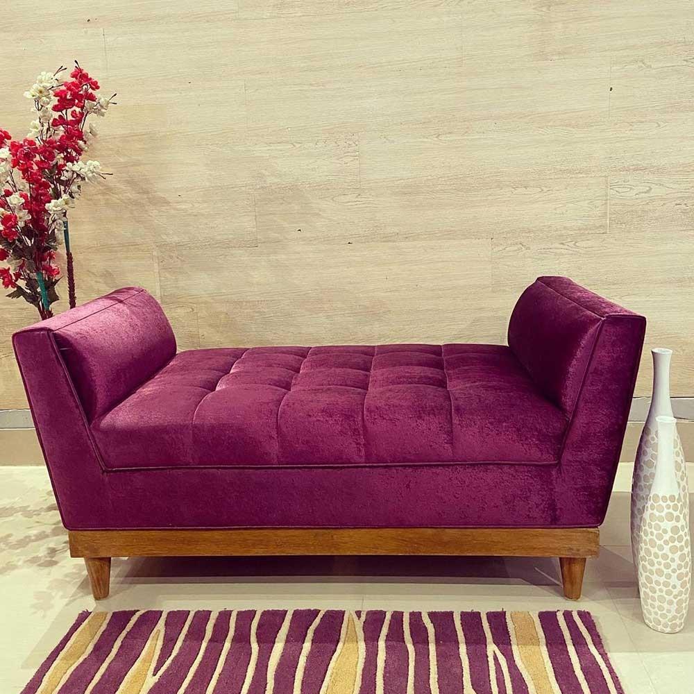 Bristol couch purple