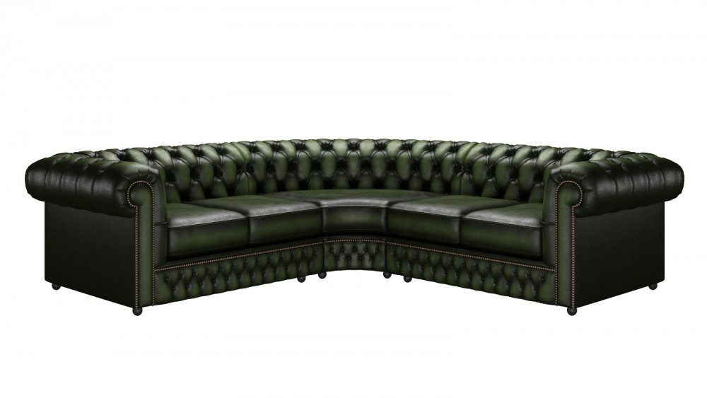 caribbean chesterfield Olive