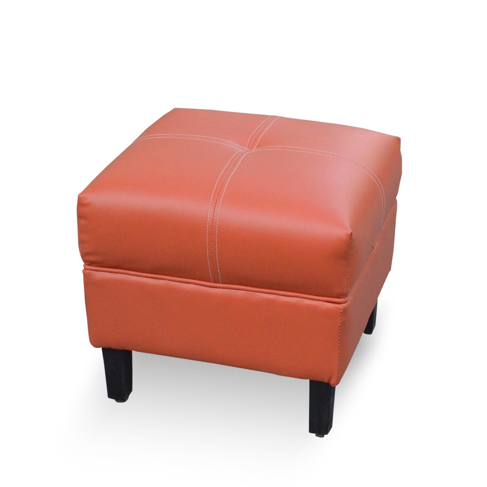 Leatherette End Table