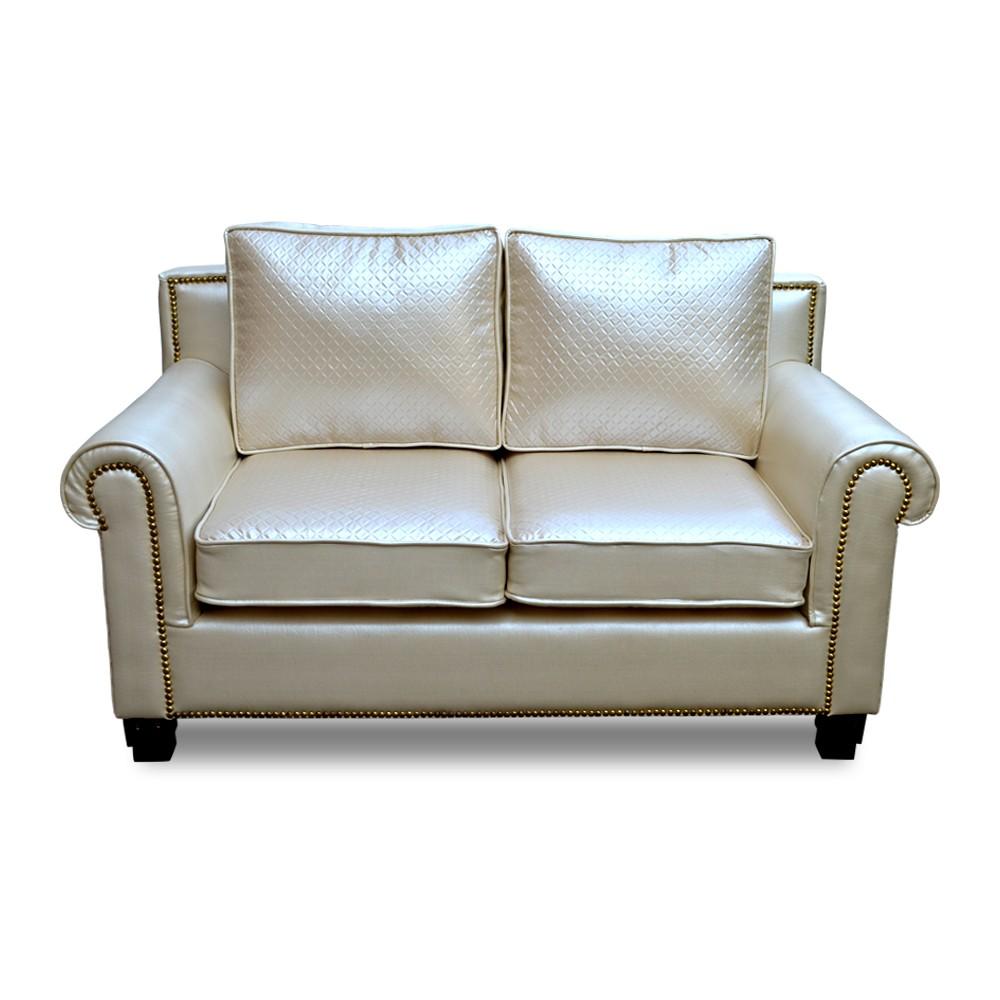 New sofa two Seater White