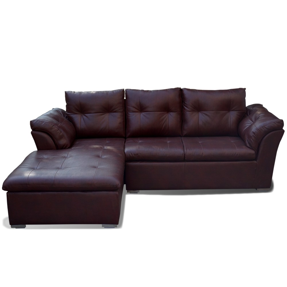 Oxford Sectional Sofa brown