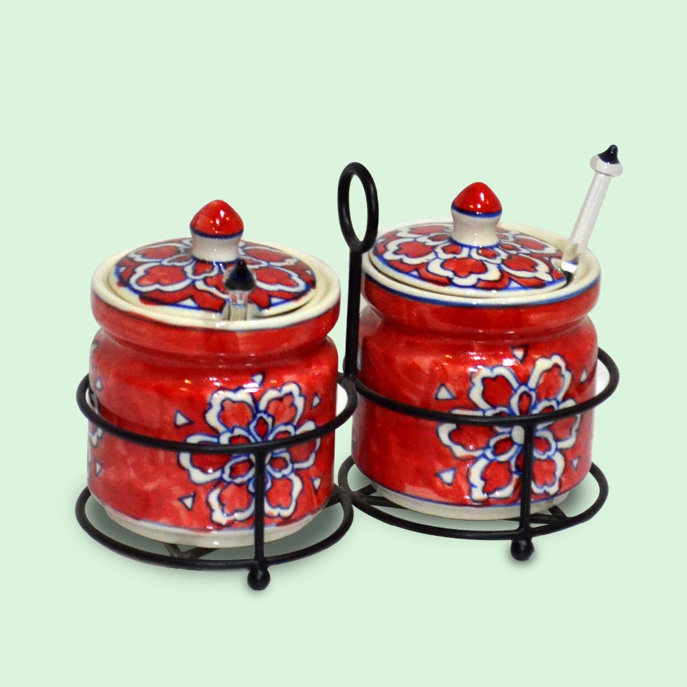 Vedic Pickle Jar Set