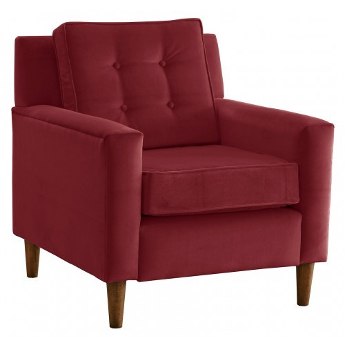 Natale Accent Chair red