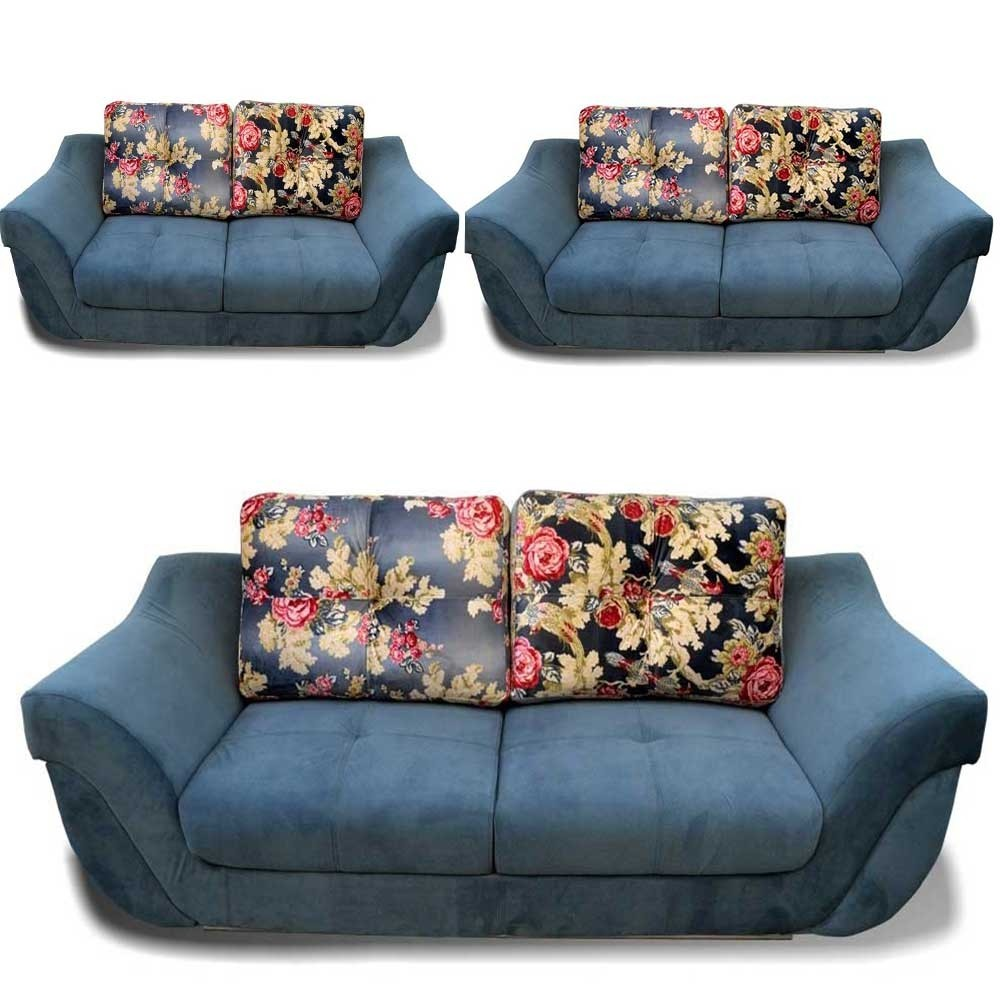 Eleonora Sofa Set Grey 3+2+2