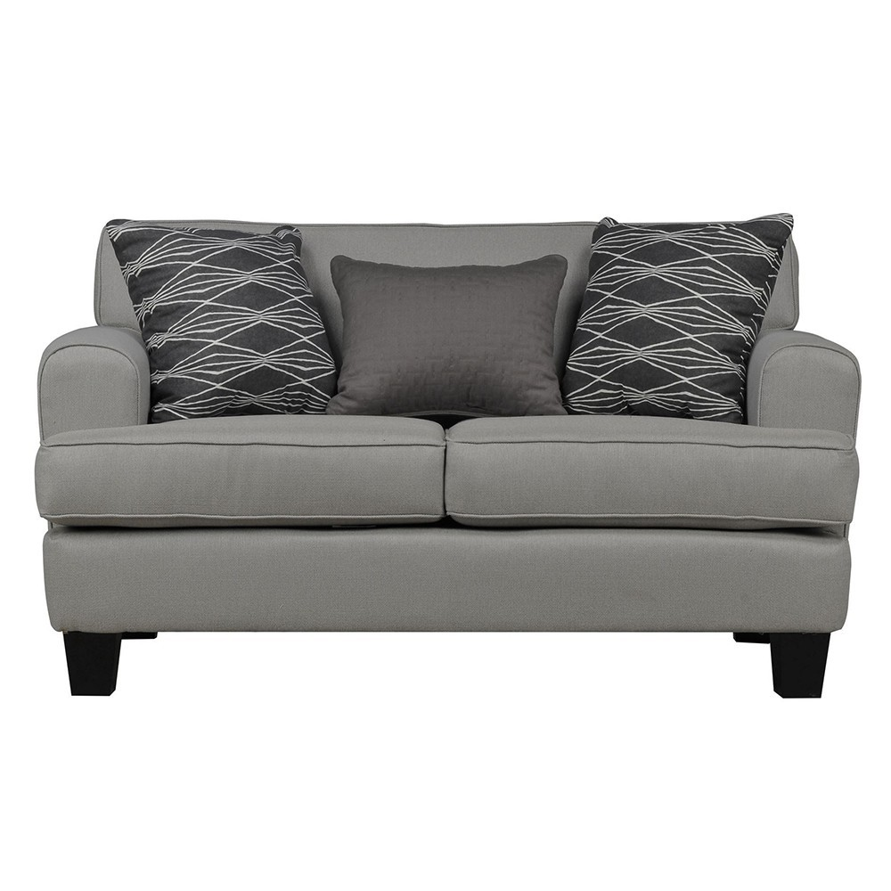 Helsinki Two Seater Sofa Grey