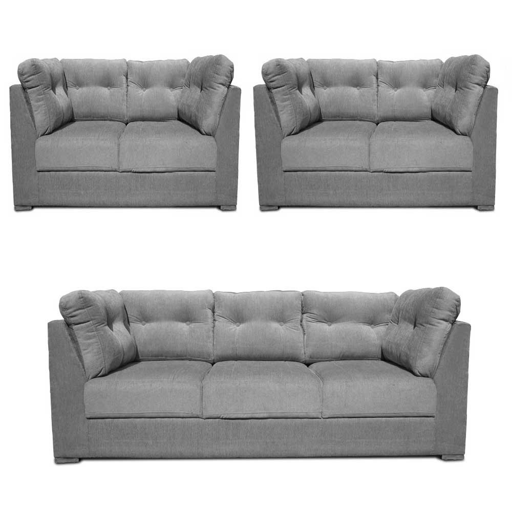 Houston Sofa Set L Grey5