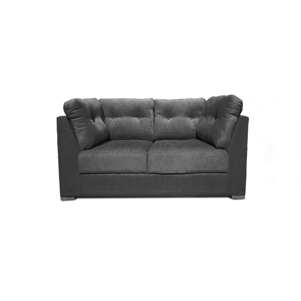 Houston Two  seater sofa Dark Grey