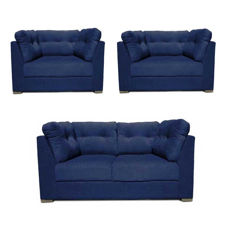 Houston Sofa Set Blue4