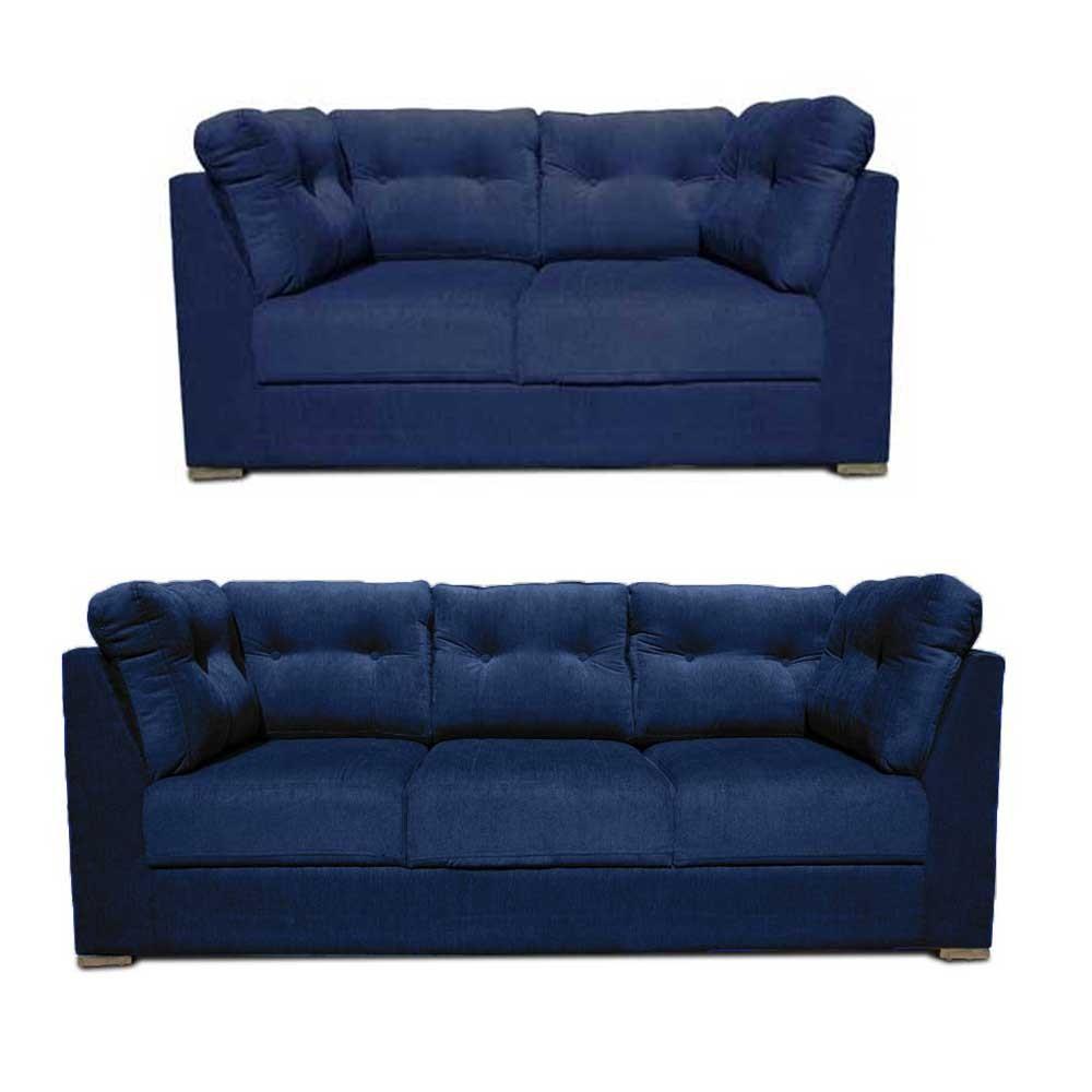 Houston Sofa Set Blue2