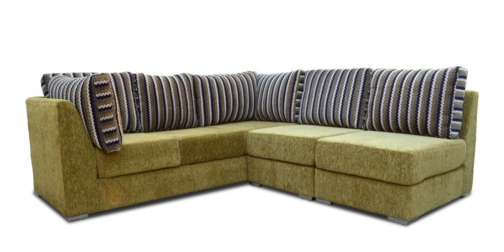 Impericon Sectional Sofa Brown