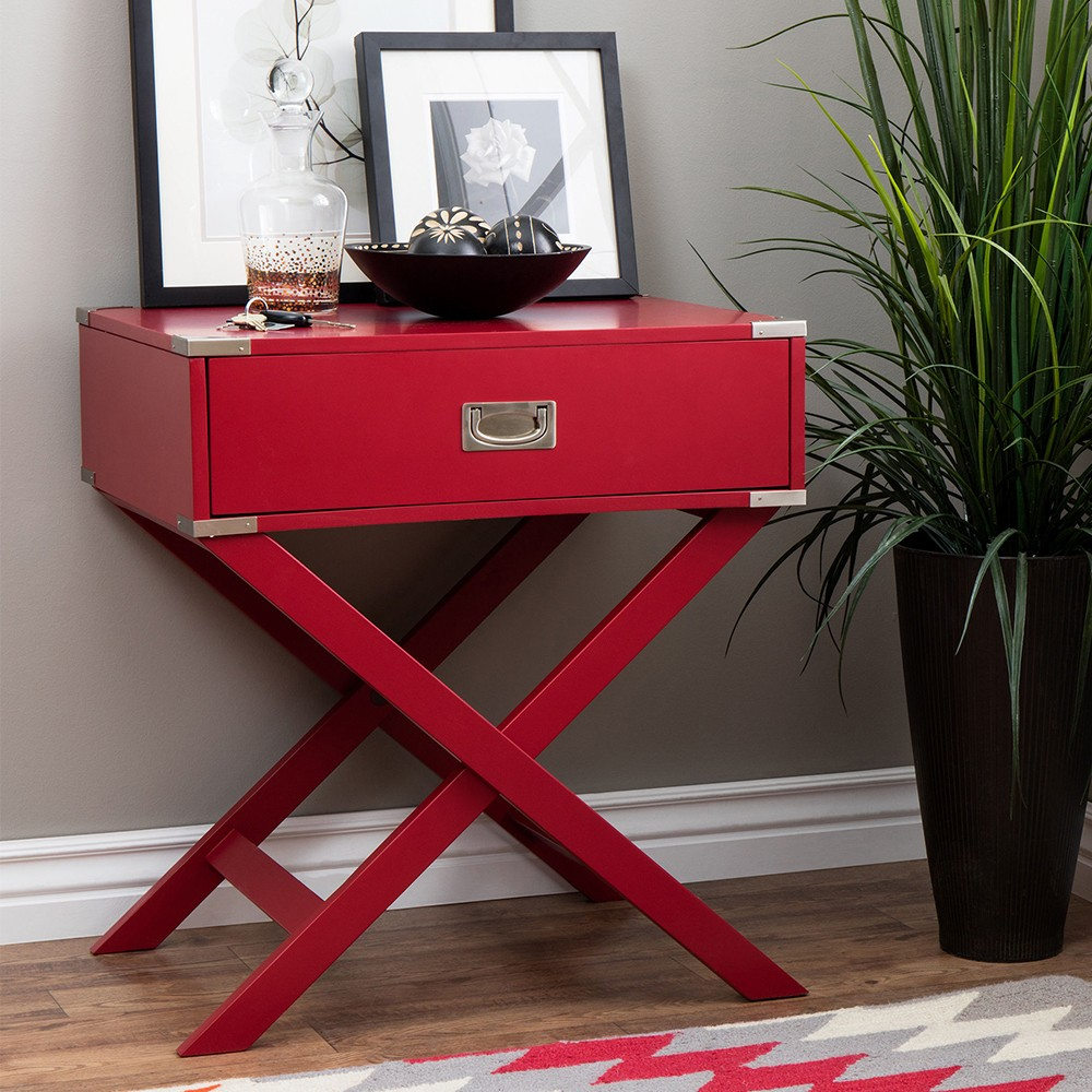 End table Red