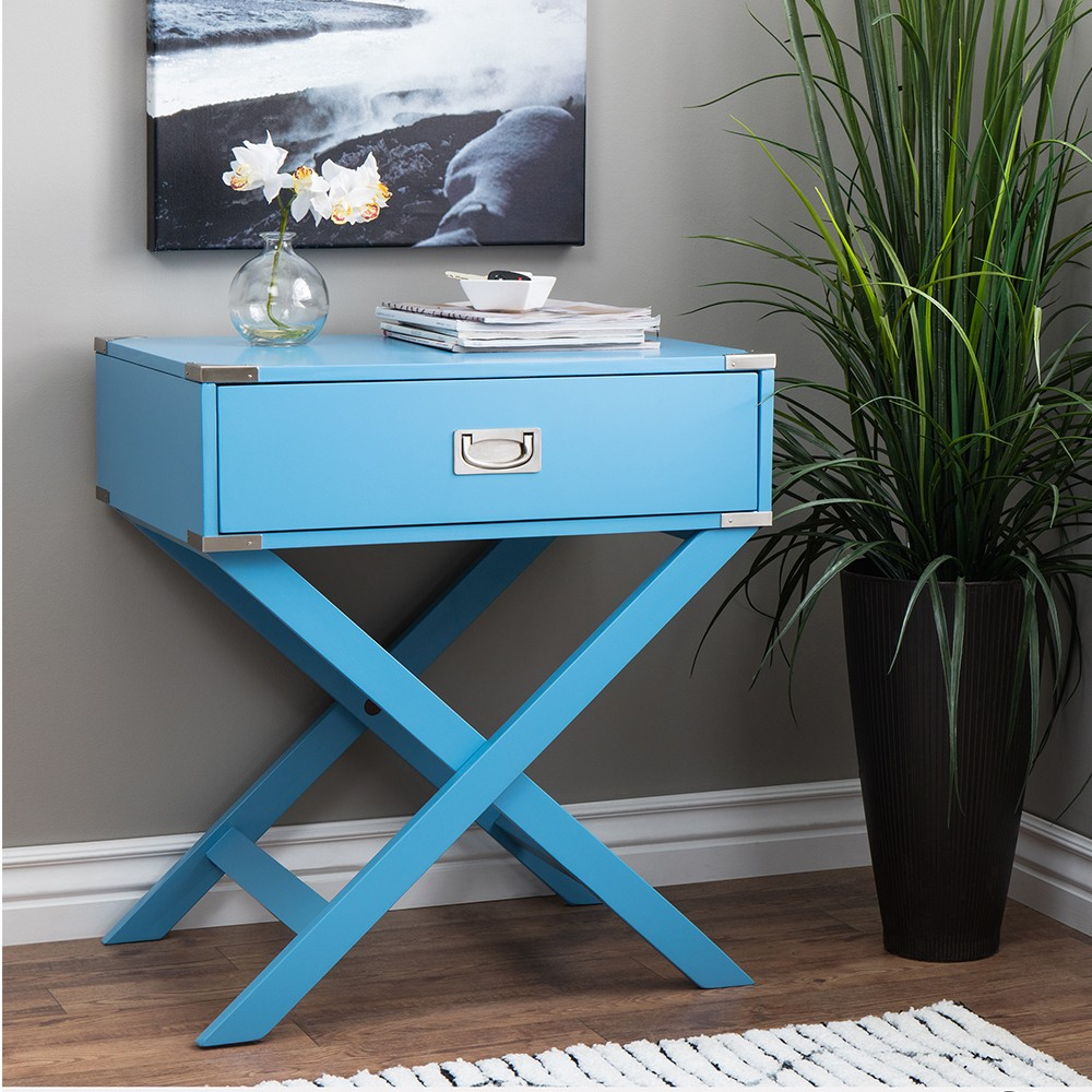 End table Teal Blue