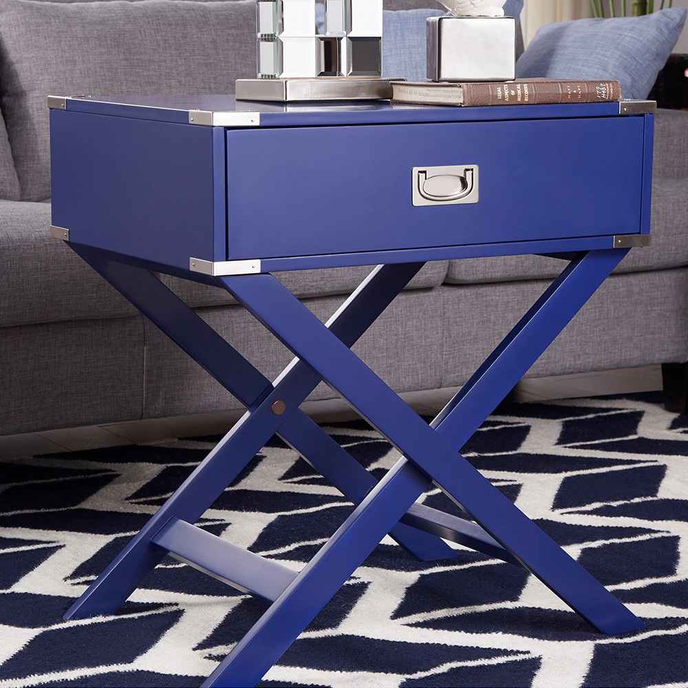 End table Blue