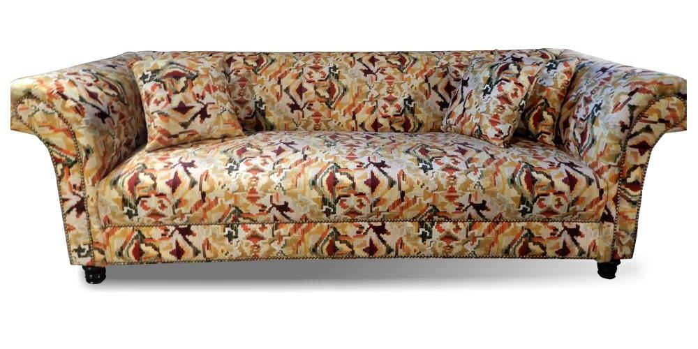 Johann Printed Three seater Sofa