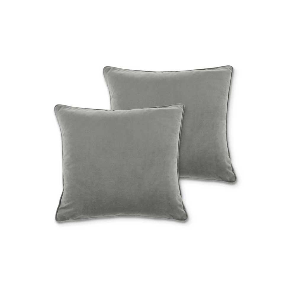 Juliette Cushions Silver Gray