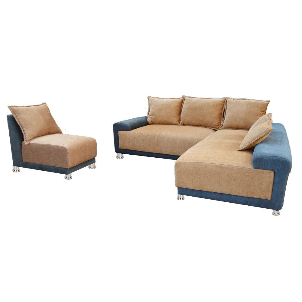 Hanna Sectional Sofa Cream