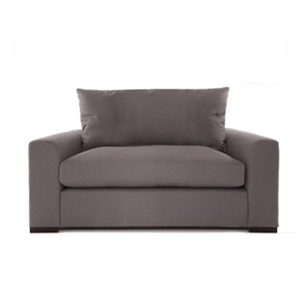 Olando One Seater Sofa Grey