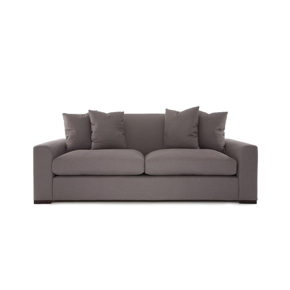 Olando Two Seater Sofa Grey