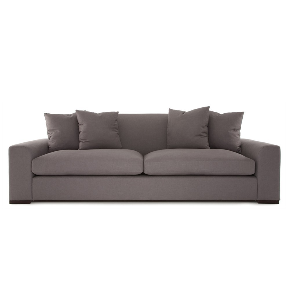Olando Three Seater Sofa Grey