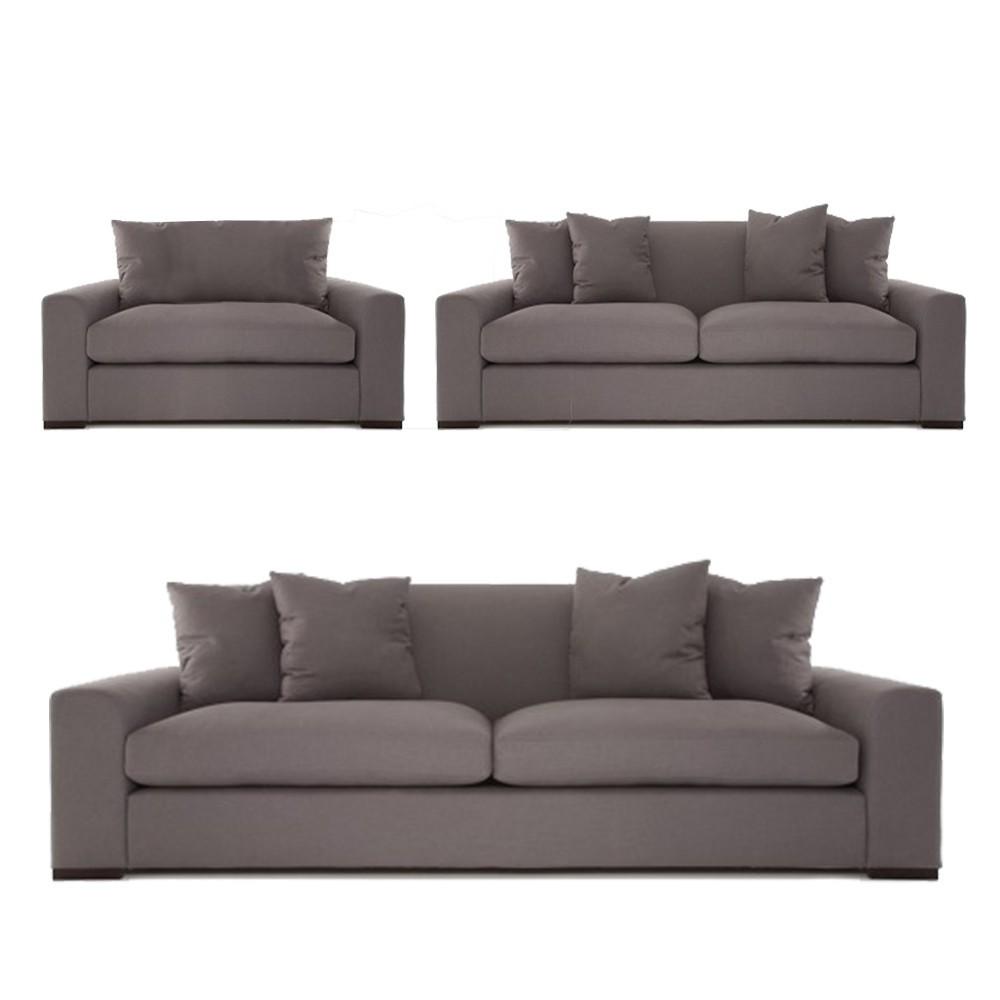 Olando Sofa sets Drak grey