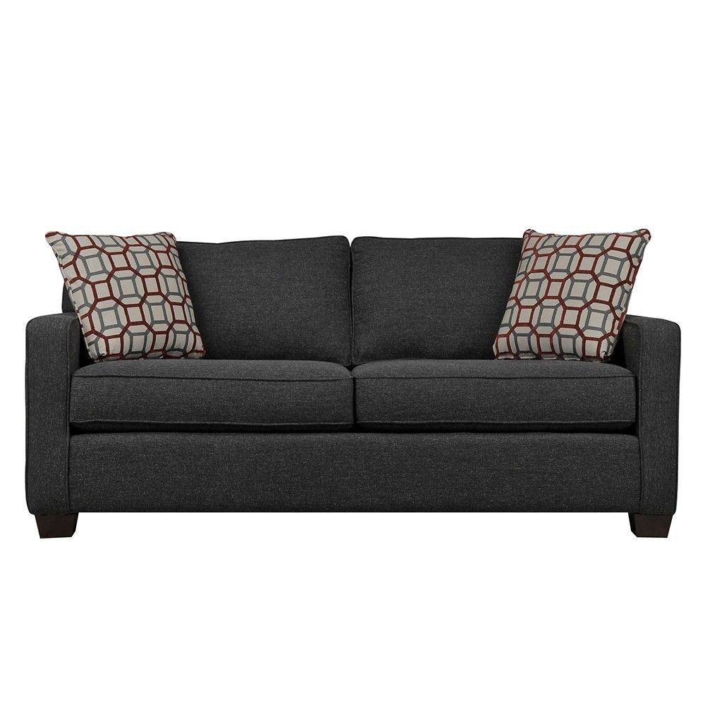 Oslo Three Seater Sofa Black