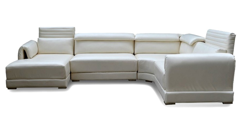 Henley Sectional Sofa White