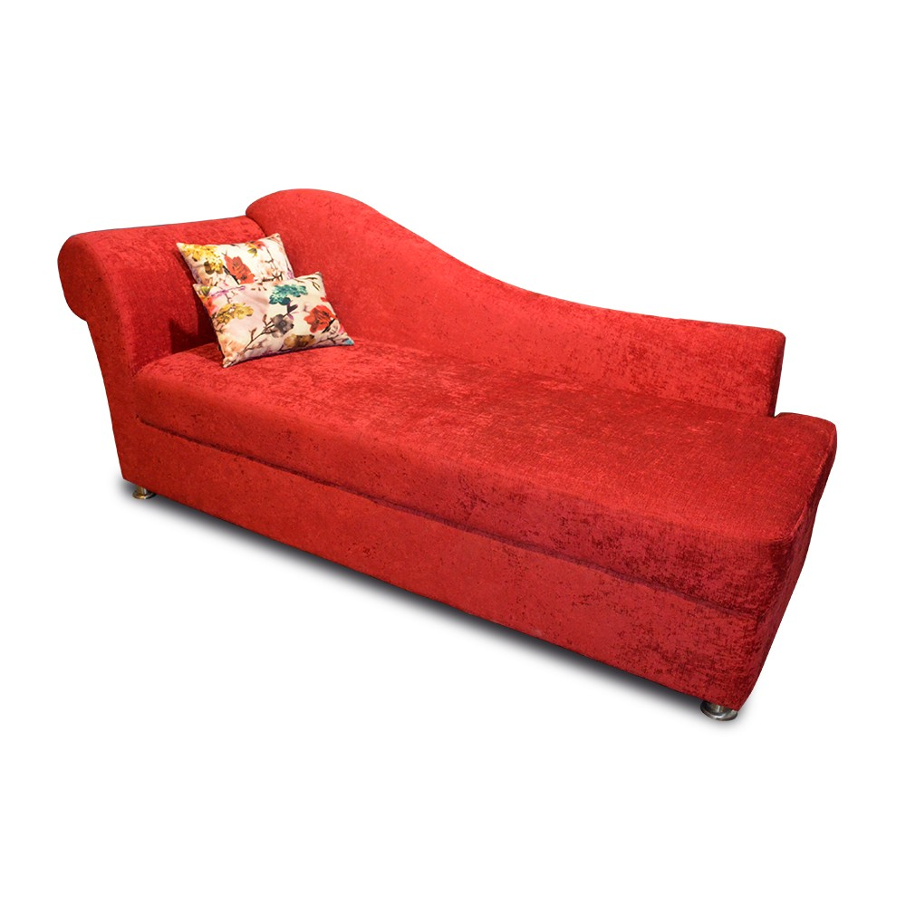 Laurren Chaise Red