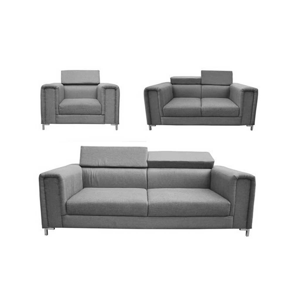 Richemont  Sofa sets 3+2+1 Gray