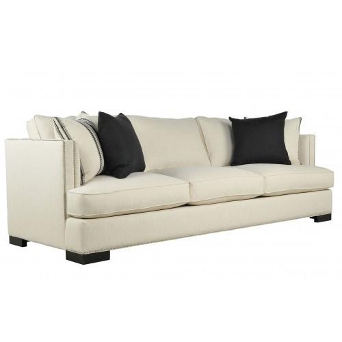 Rome Three Sofa White